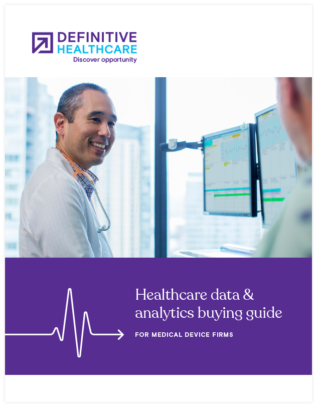 Healthcare data and analytics buying guide for medical device firms