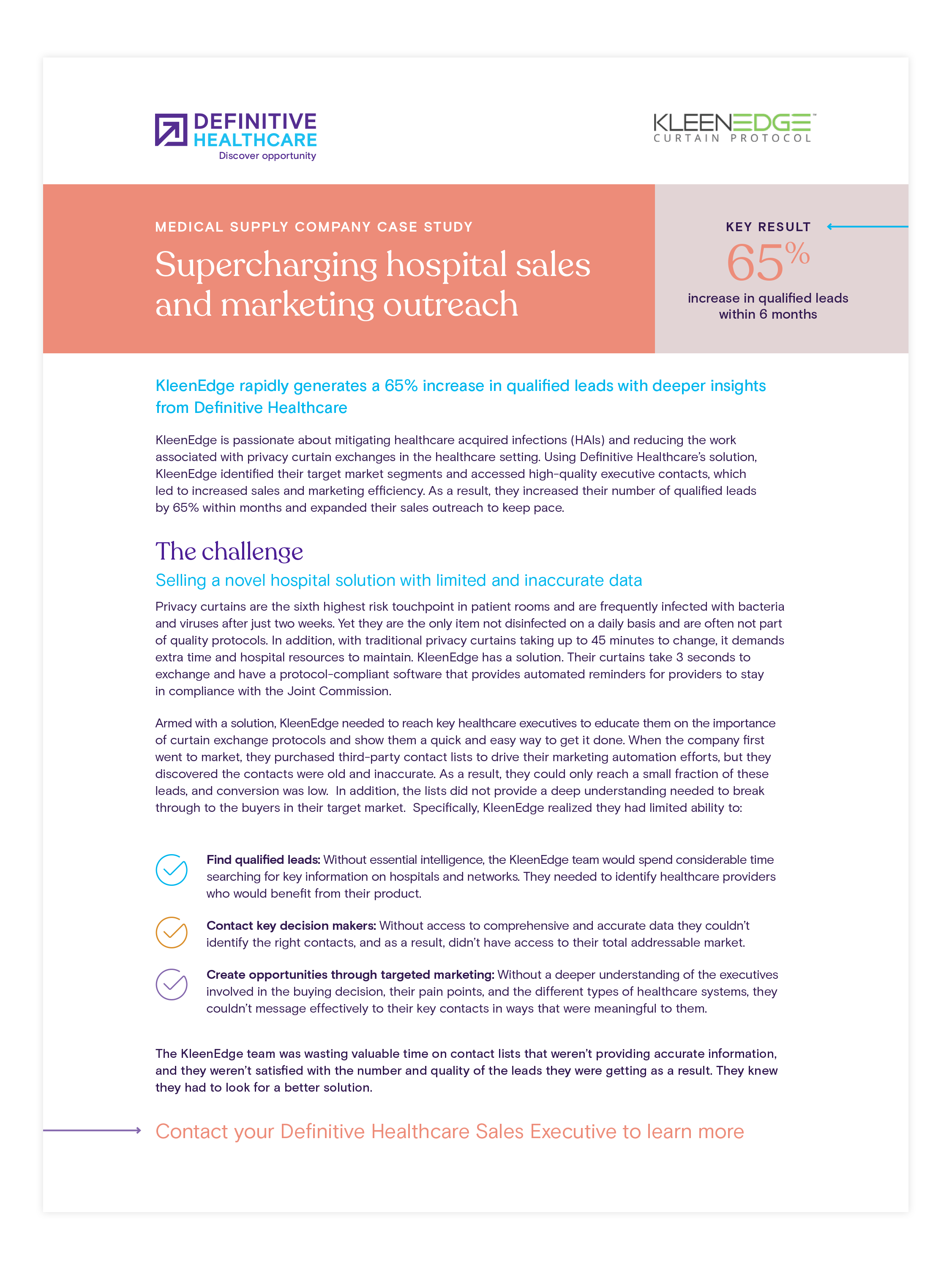 Supercharging hospital sales and marketing outreach
